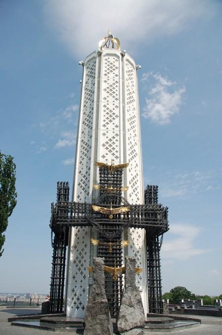 Kijów. Pamięci ofiar Wielkiego Głodu