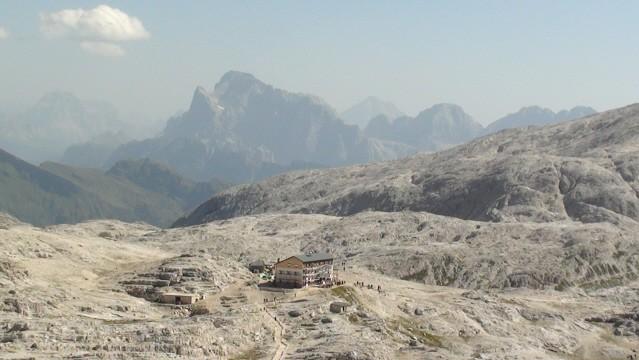 Altipiano di Pala Dziko na wielkim płaskowyżu