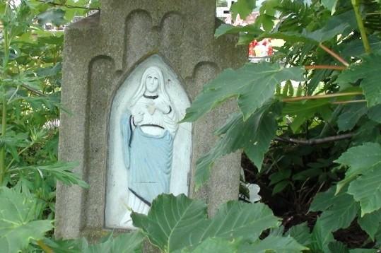 Hańczowa Na starym łemkowskim cmentarzu