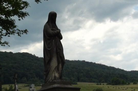 Hańczowa. Na starym łemkowskim cmentarzu