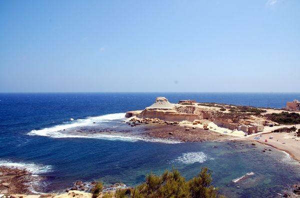 Gozo Wyspa homerowej nimfy Kalypso