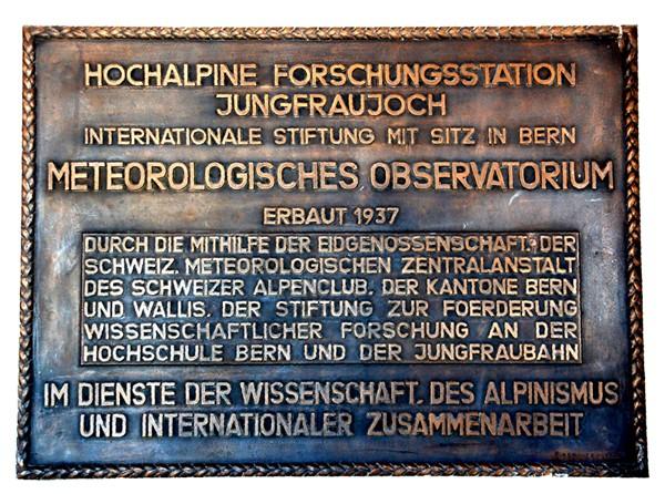 Jungfraujoch. Podziemne miasto przy kolei