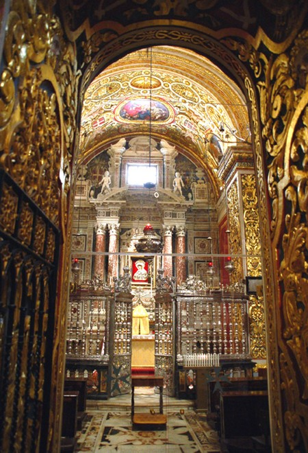 La Valletta. Katedra św. Jana Chrzciciela