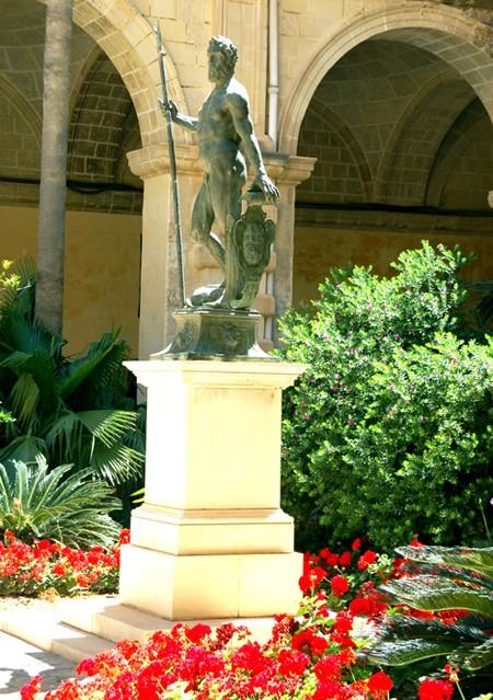La Valletta. W Pałacu Wielkiego Mistrza