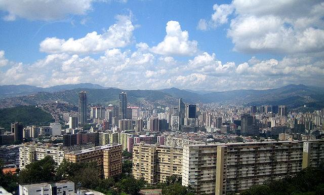 Caracas Z taksówkarzem za przewodnika