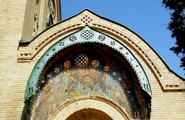 Parchomiwka Mozaiki Mikołaja Roericha w małej wiosce