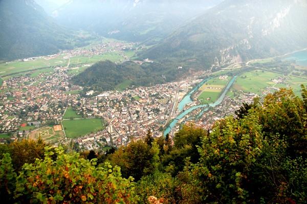 Interlaken. Kolejka górska Harderbahn