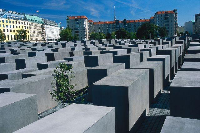 Berlin. Pomnik ofiar Holokaustu