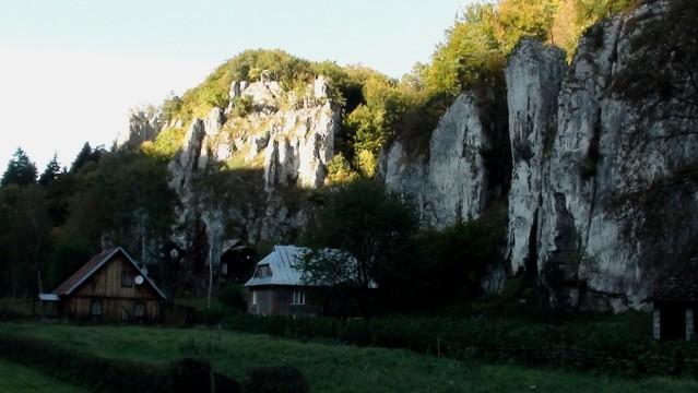 Dolina Prądnika. Do Bramy Krakowskiej obok Igły Deotymy
