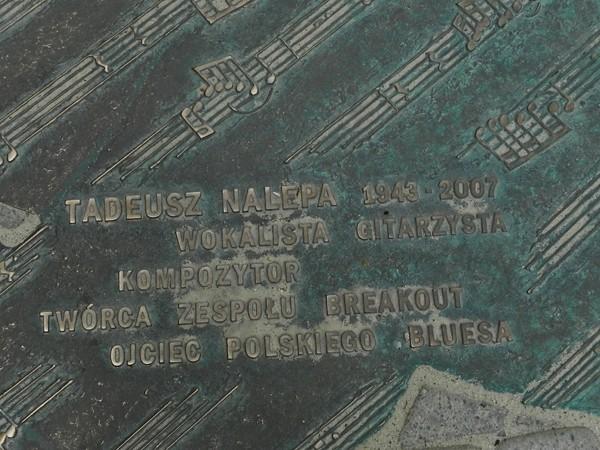 Rzeszów. Tadeusz Nalepa spaceruje po deptaku