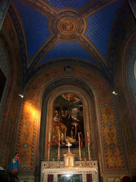 Rzym. Święty Wawrzyniec za murami