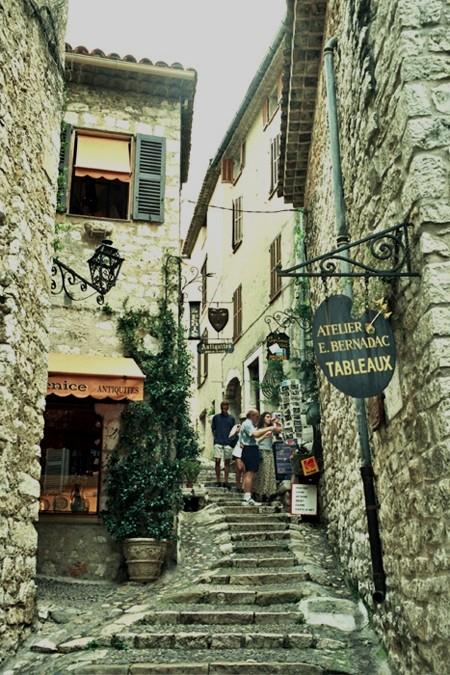 Saint-Paul-de-Vence. Marc Chagall i tłumy bogatych turystów