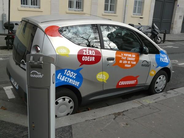 Paryż Autolib – autko tylko na moment