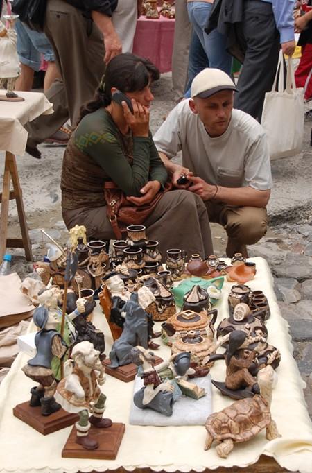 Kijów. Święty Andrzej i miejscowa bohema