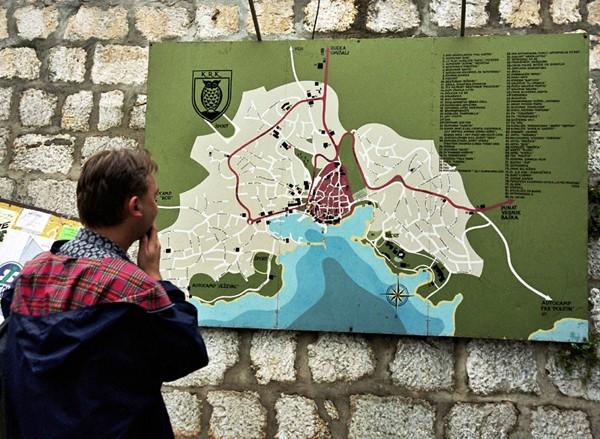 Krk. Największa spośród chorwackich wysp