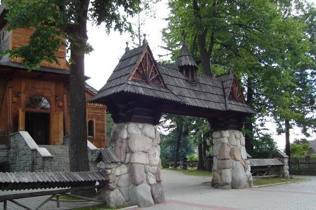Kościelisko. Kościół św. Kazimierza Królewicza