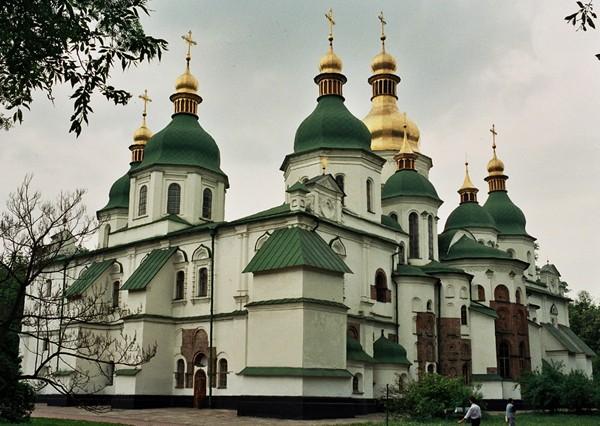 Kijów Tysiąc lat Soboru Sofijskiego