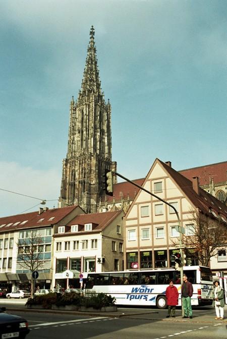 Ulm. Jedno miasto w dwu krajach