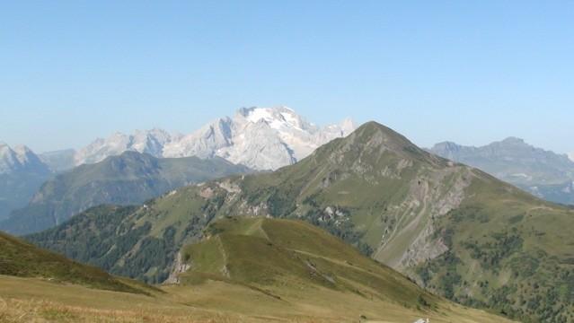 Averau-Nuvolau. Z Passo Giau do Forcella Nuvolau