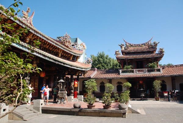 Tajpej Taoistyczna świątynia Baoan