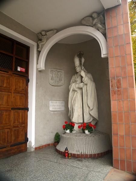 Szczecin. Nowy kościół w starej wieży ciśnień