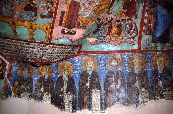 Agios Neophytos. Klasztor świętego Neofita