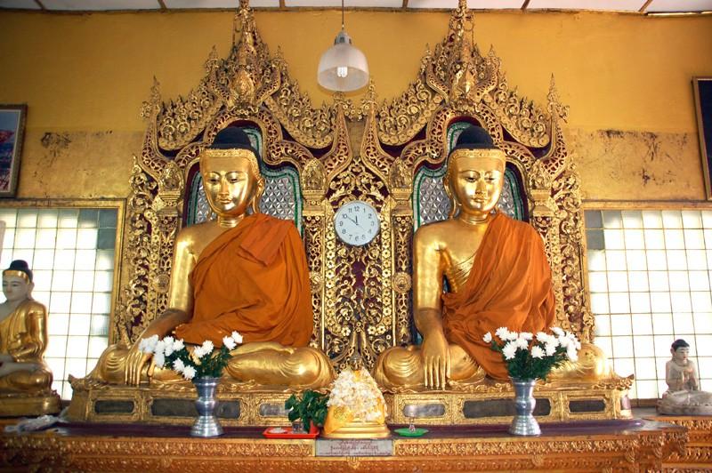 Rangun. Złota stupa Szwe Dagon