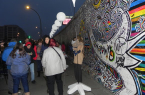 Berlin East Side Gallery, czyli graffiti na Murze