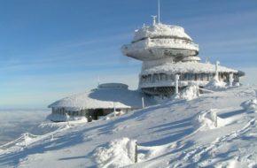 Śnieżka Krajobraz bez kosmicznych spodków
