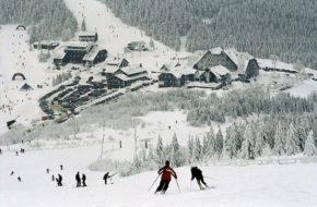 Červenohorské sedlo Narciarska przygoda na przełęczy