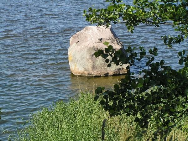 Kamień Pomorski. Podoba mi się ten głaz… Głaz Królewski