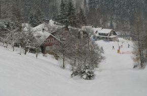 Herlíkovice Zjazdy bez żalu na górze Žalý
