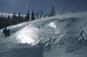 Karpacz Stoki z widokiem na Śnieżkę