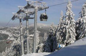 Oščadnica Ławka i gondolka, czyli narciarski telemix