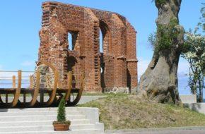 Trzęsacz Zemsta Bałtyku, czyli ruina na urwisku