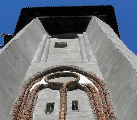 Kamień Pomorski Stary kościółek na wzgórzu Żalnik
