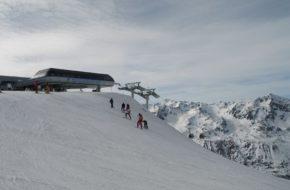 Gurgl Na narty z widokiem na 21 lodowców