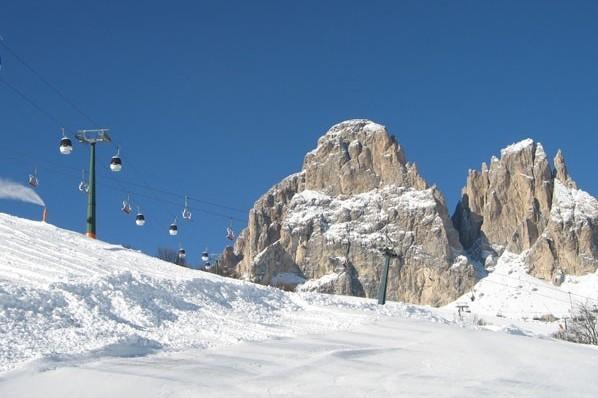 Sella. Na nartach wokół skalnego szczytu