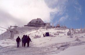 Szklarska Poręba Na szrenickiej narciarskiej arenie