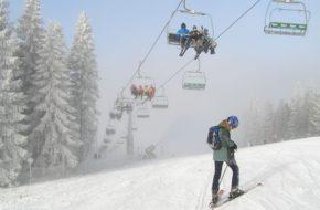 Wierchomla Pierwsza z dwu narciarskich dolin