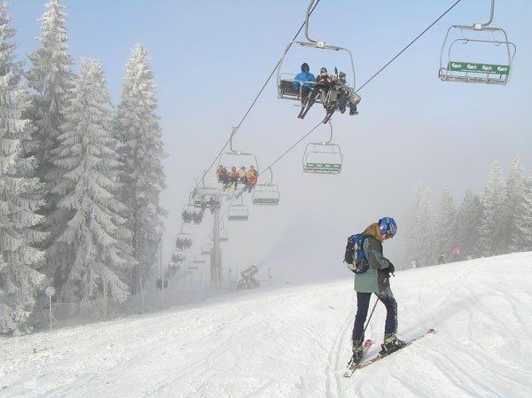 Wierchomla. Pierwsza z dwu narciarskich dolin