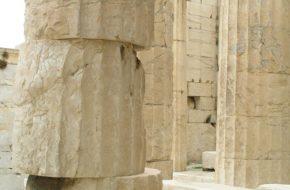 Ateny Co widać z Akropolu w listopadowy ranek