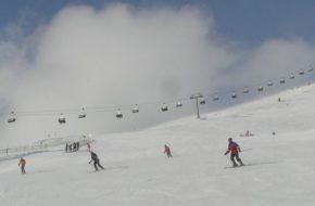Mölltaler Gletscher Jazda w puchu na karynckim lodowcu