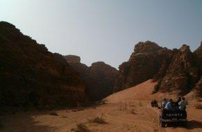 Wadi Rum Do wioski angielskiego szpiega