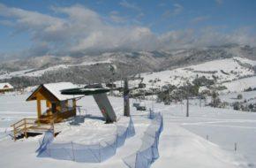 Jaworki Nowe krzesło na narciarskiej arenie
