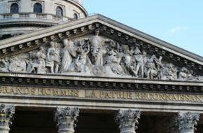 Paryż Wielkim ludziom wdzięczna ojczyzna