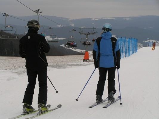 Szczawnik. Druga z dwu narciarskich dolin