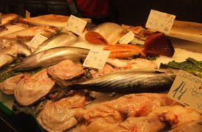 Barcelona Lunch na rybnym bazarze