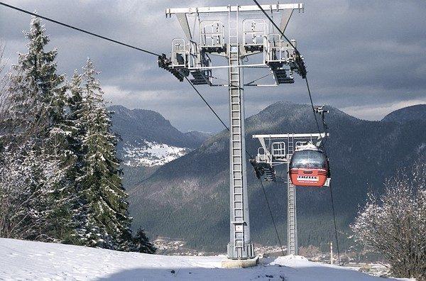 Ružomberok. Słoneczne stoki w Ski Parku