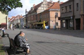 Kowno W zastępczej stolicy Litwy